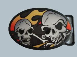 Пряжка - Skull4