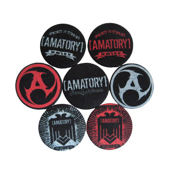 Значок -[AMATORY]-комплект из 7 значков