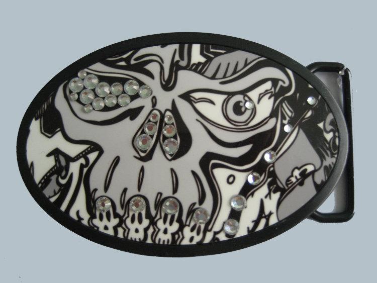 Пряжка - Skull6