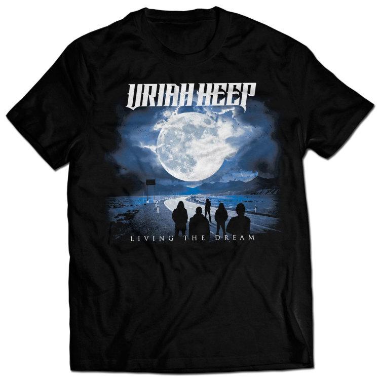 Футболка - Uriah Heep (Living The Dream Tour)