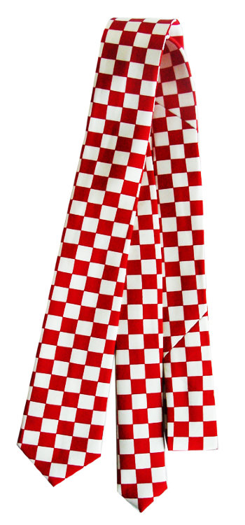 Галстук - RED-WHITE