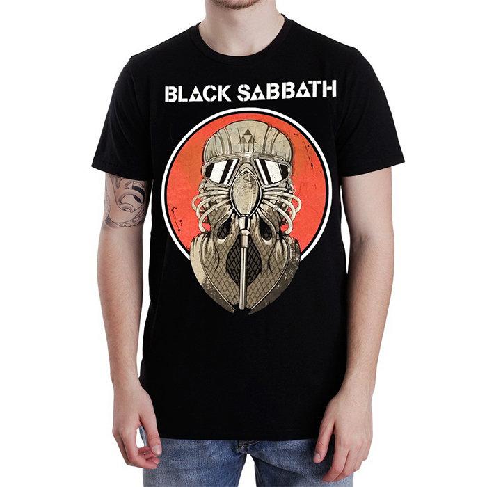 Футболка - Black Sabbath(Red Circle)