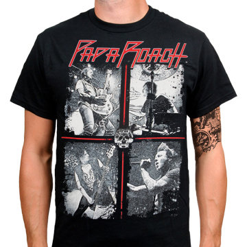 Футболка - Papa Roach(Tour)