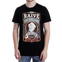 Футболка - NAIVE(Fight,Rebel & Riot)