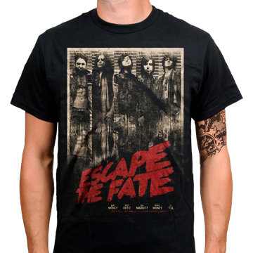 Футболка - Escape the Fate(Grindhouse Tour)