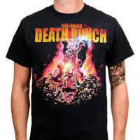 Футболка - Five Finger Death Punch (Purgatory)