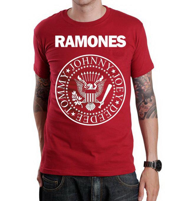 Футболка - Ramones(red)