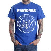 Футболка - Ramones(blue)