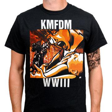 Футболка- KMFDM