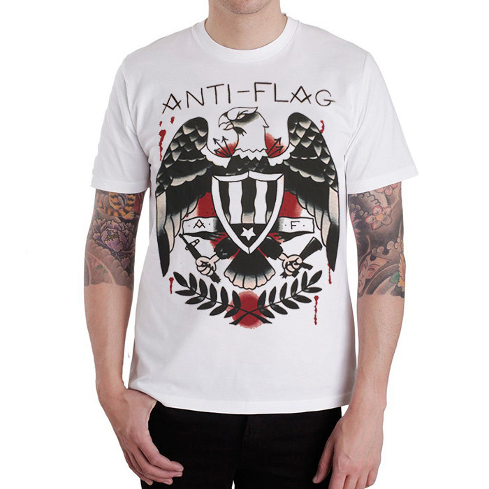 Футболка - Anti-Flag(white)