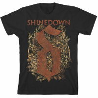 Футболка - Shinedown (Overgrown euro tour)