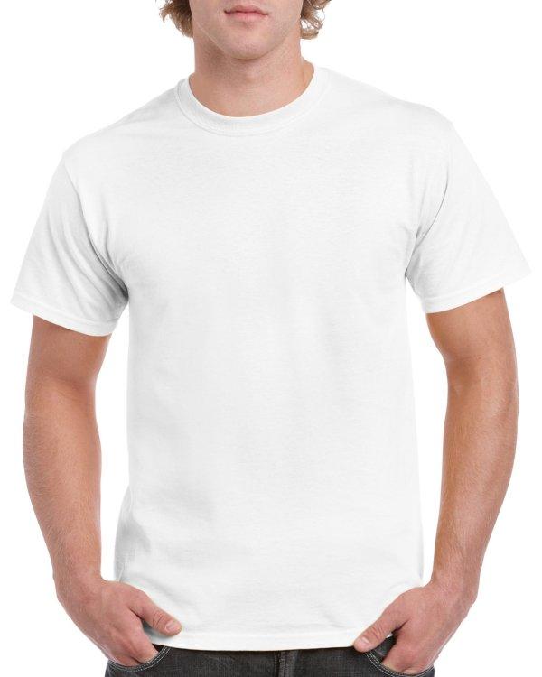 Футболка -  Gildan (Heavy Cotton) white
