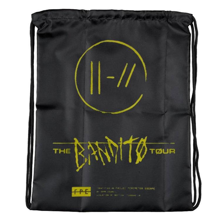 Рюкзак - мешок - Twenty One Pilots (Bandito Drawstring Bag)
