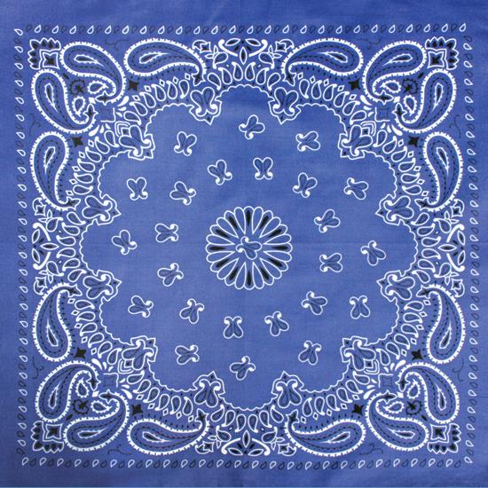 Бандана - Огурцы синие