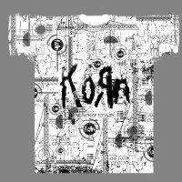 Футболка - Korn (Schematic)