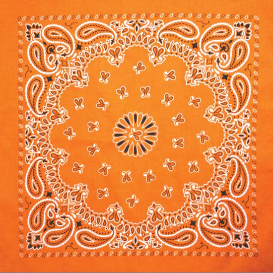 Бандана - Огурцы оранжевые