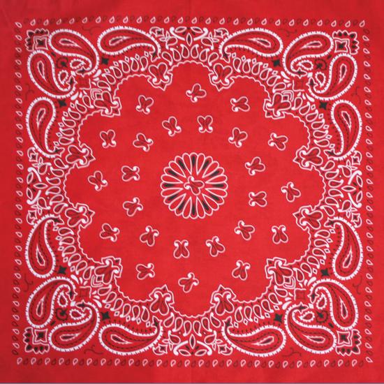 Бандана - Огурцы  красные
