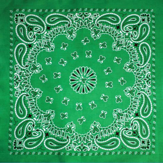 Бандана - Огурцы зелёные