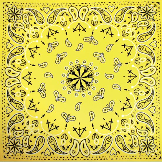 Бандана - Огурцы античные жёлтые