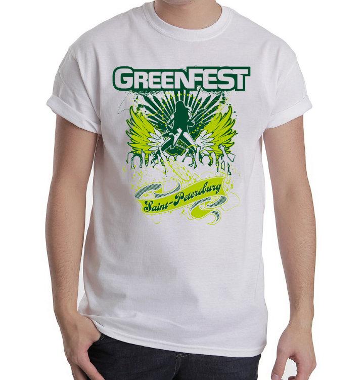 Футболка - GreenFest(White)