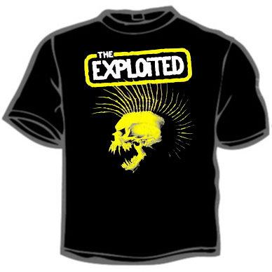 Футболка - The Exploited 1(tour)