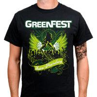 Футболка - GreenFest(Black)