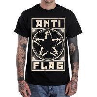 Футболка -Anti-Flag(Comrade Gunstar)
