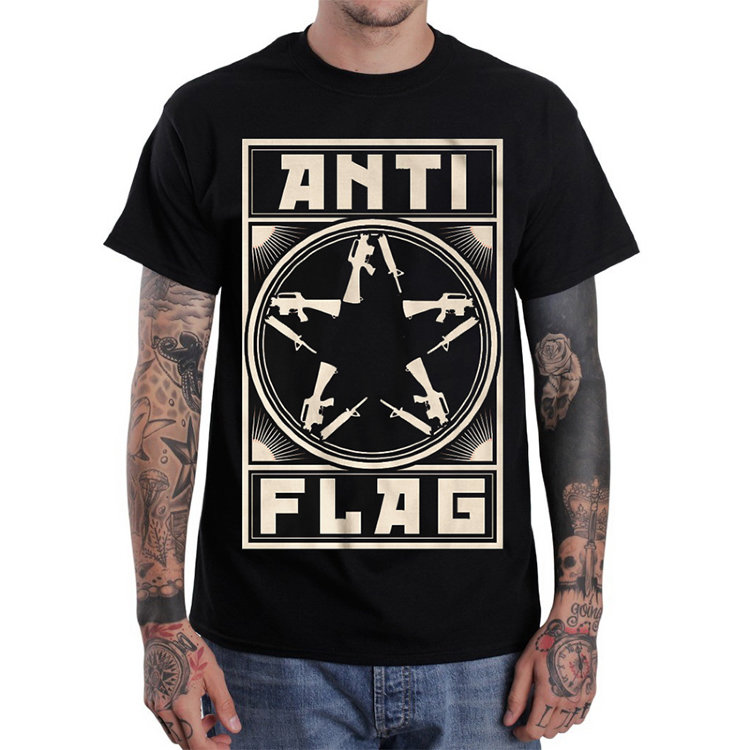 Футболка -Anti-Flag(Comrade Gunstar)