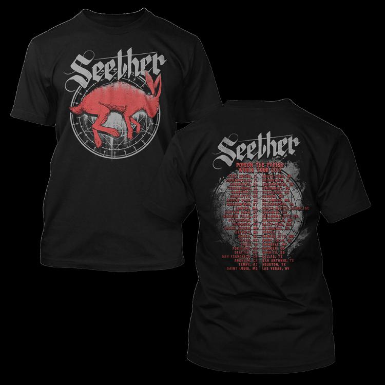 Футболка - Seether(Fading Hare)
