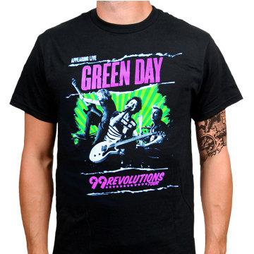 Футболка - Green Day(99revolutions)
