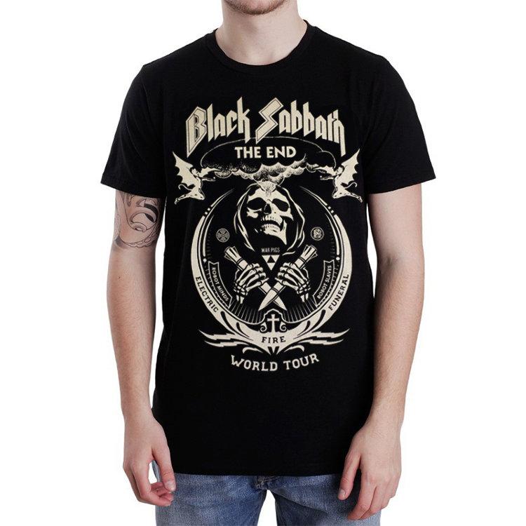 Футболка - Black Sabbath(The End Tour)