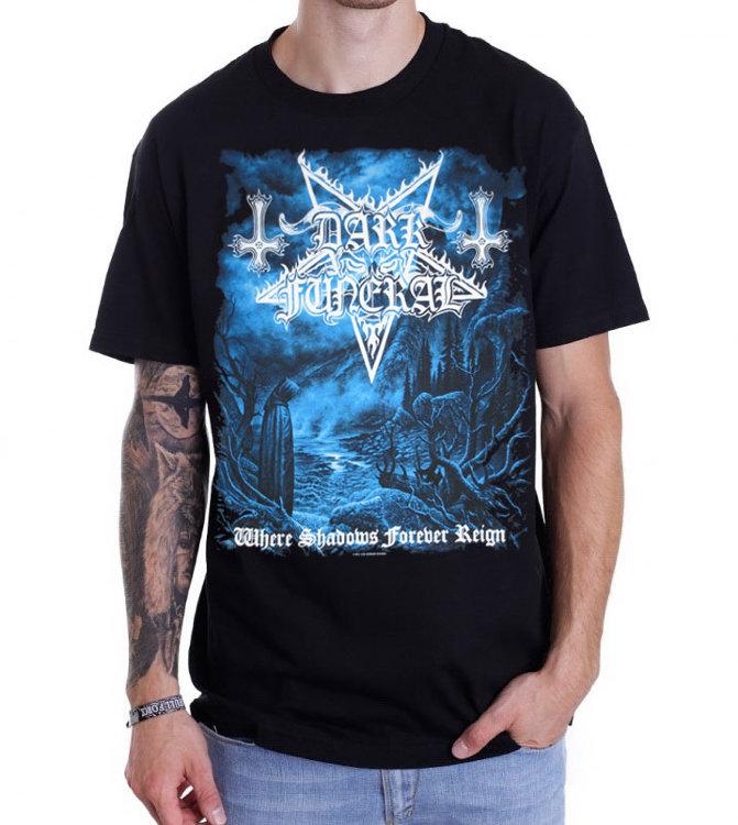 Футболка - Dark Funeral(Where Shadows Forever Reign)