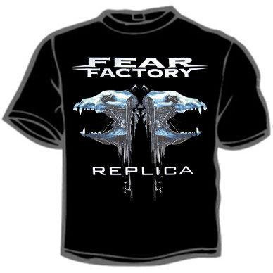 Футболка - Fear Factory(Replica)