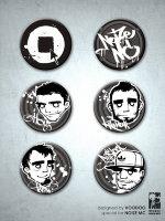 Noize MC - Комплект из 6-ти значков