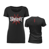 Футболка - Slipknot(9 Point Flag Women's scoop)