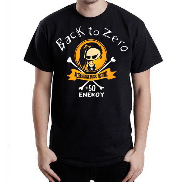 Футболка - BACK TO ZERO(yellow)