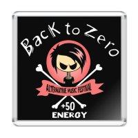 Магнит - BACK TO ZERO(pink)