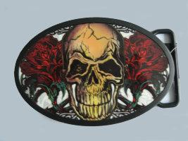 Пряжка - Skull1